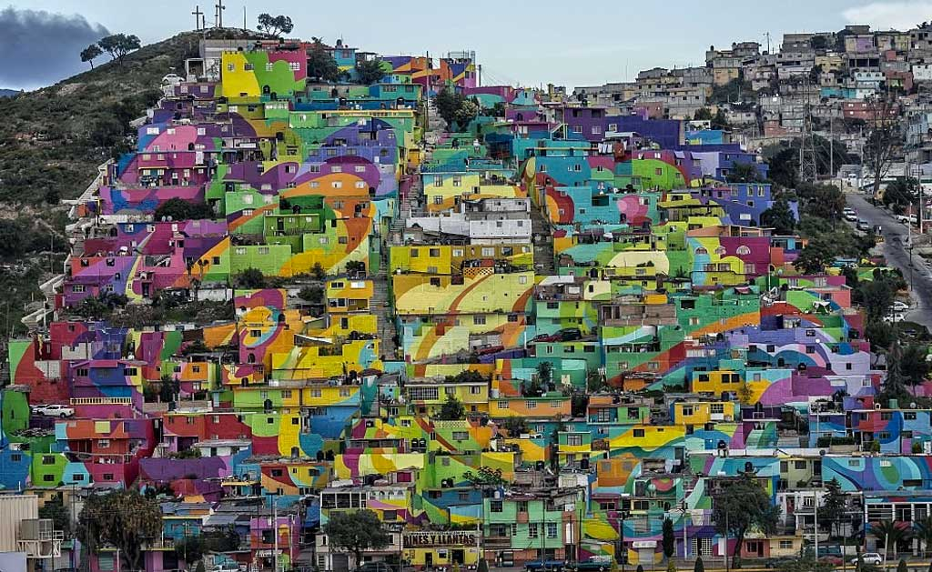 calles coloridas en el mundo