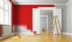 de que no color pintar una habitación