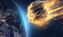 si la Tierra es golpeada por un asteroide