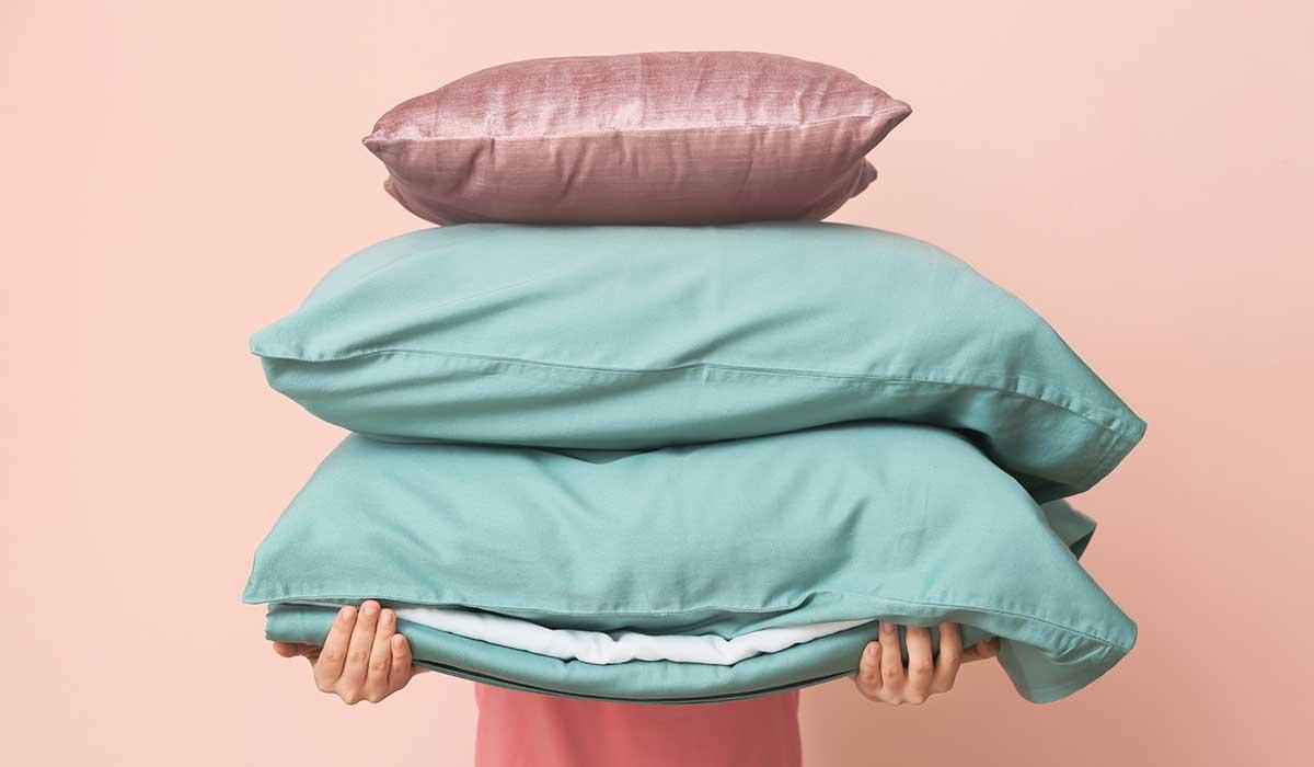 usos de limpieza para la funda de almohada
