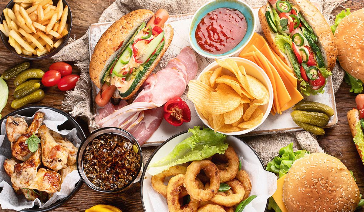 evita estas opciones de comida rápida