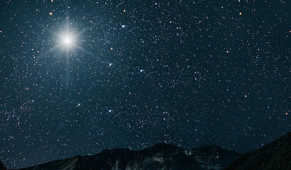 Podrás ver la Estrella de Belén