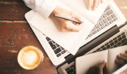 escribir a mano o con el teclado