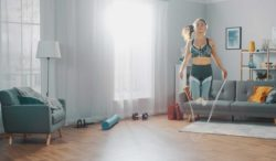 saltar la cuerda es un ejercicio muy completo