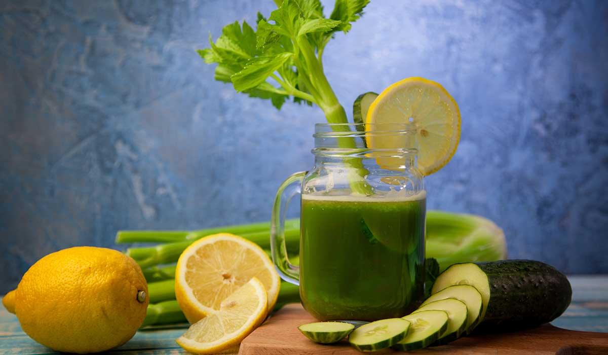 jugo verde para controlar el azúcar