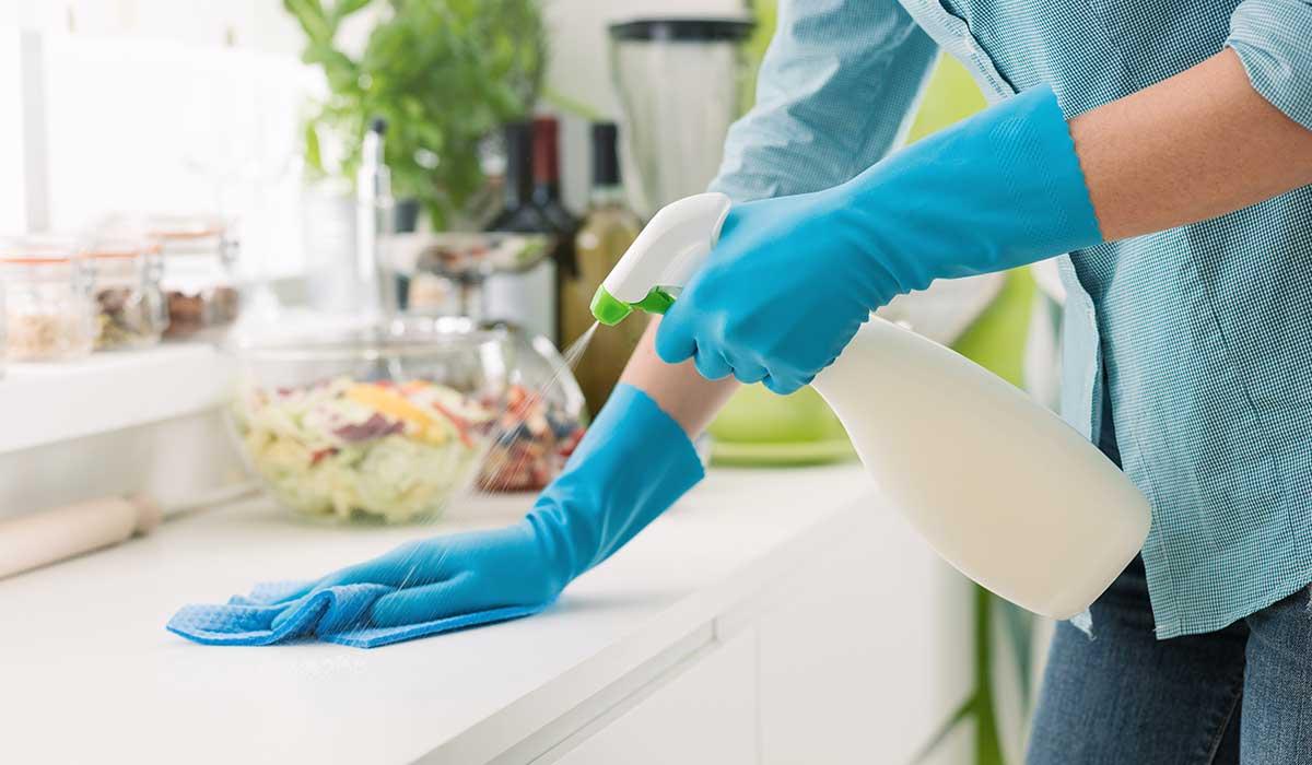 lugares en casa que debes limpiar para evitar contagios
