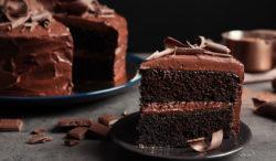 receta pastel chocolate relleno
