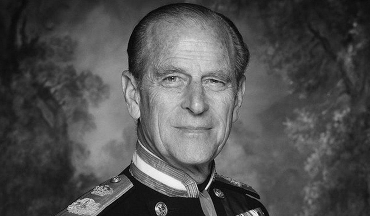la monarquía británica esta de luto por la muerte de Felipe