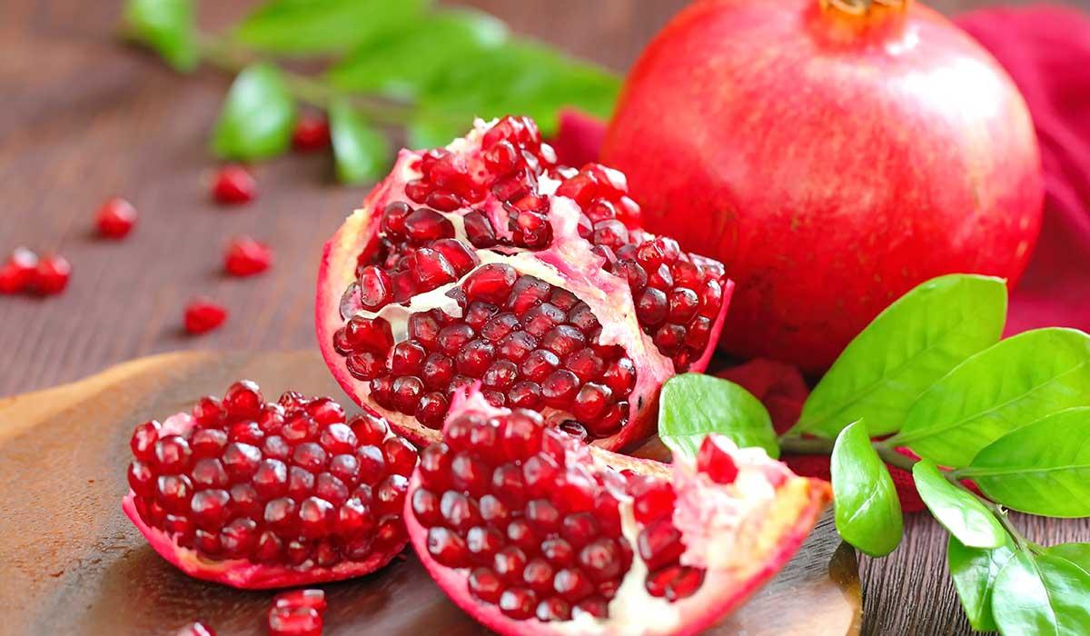 antioxidantes de la granada contra el Parkinson