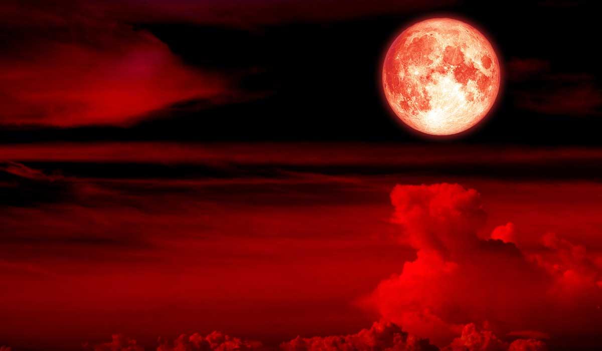 luna de sangre y otros fenómenos celestes