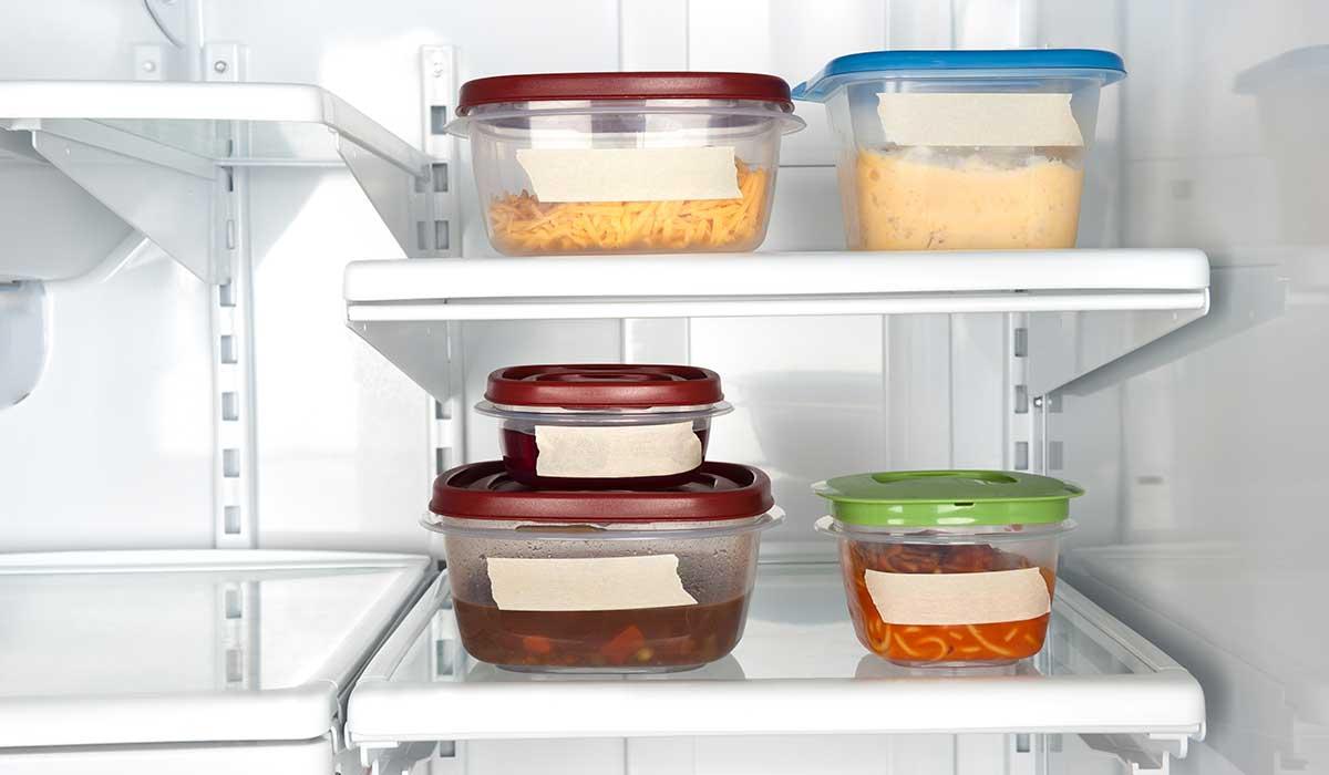 tips para guardar tu comida sobrante en el refrigerador