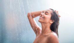 disfruta de la temperatura ideal mientras estás en la ducha