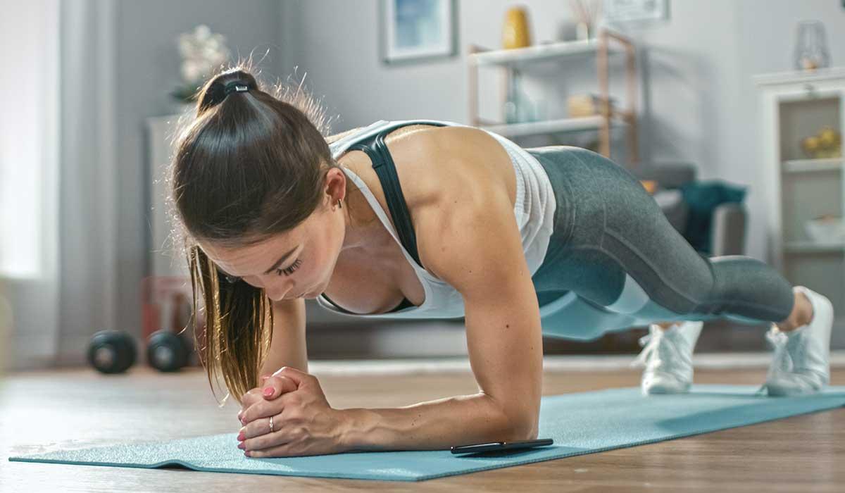 planchas para fortalecer los abdominales