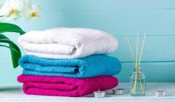 toalla limpia y suave con estos tips