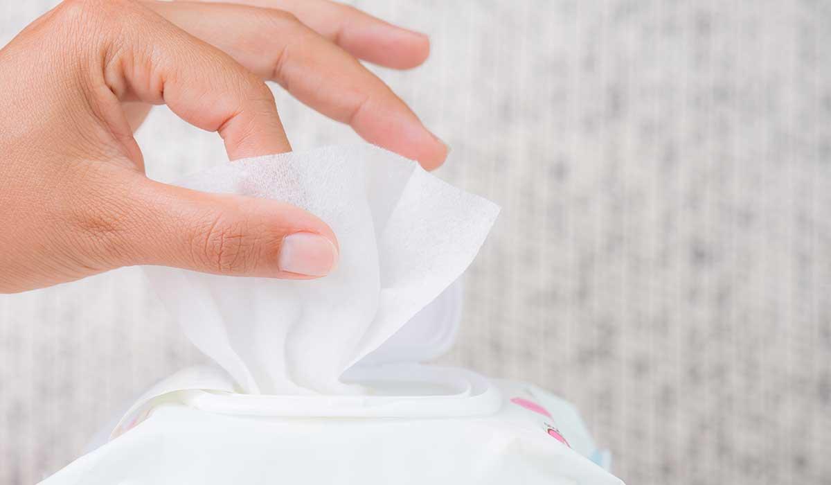 mira todo lo que puedes hacer con las toallitas húmedas para bebé