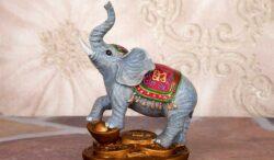 un elefante para atraer buena energía en casa