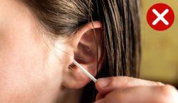 limpia correctamente tus oídos con agua
