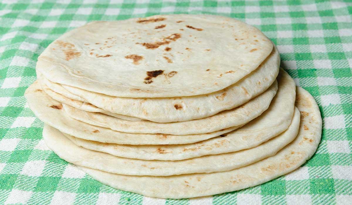 prepara tortillas de harina en casa