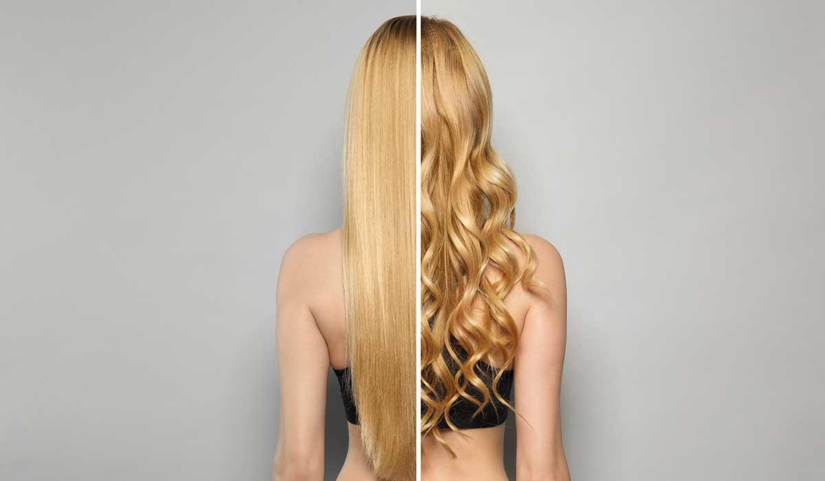 separa y peina tu cabello