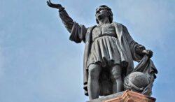 cambian estatua de Colón por una mujer olmeca